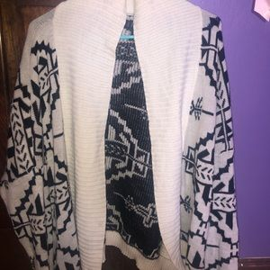 Geometric Design Cardigan